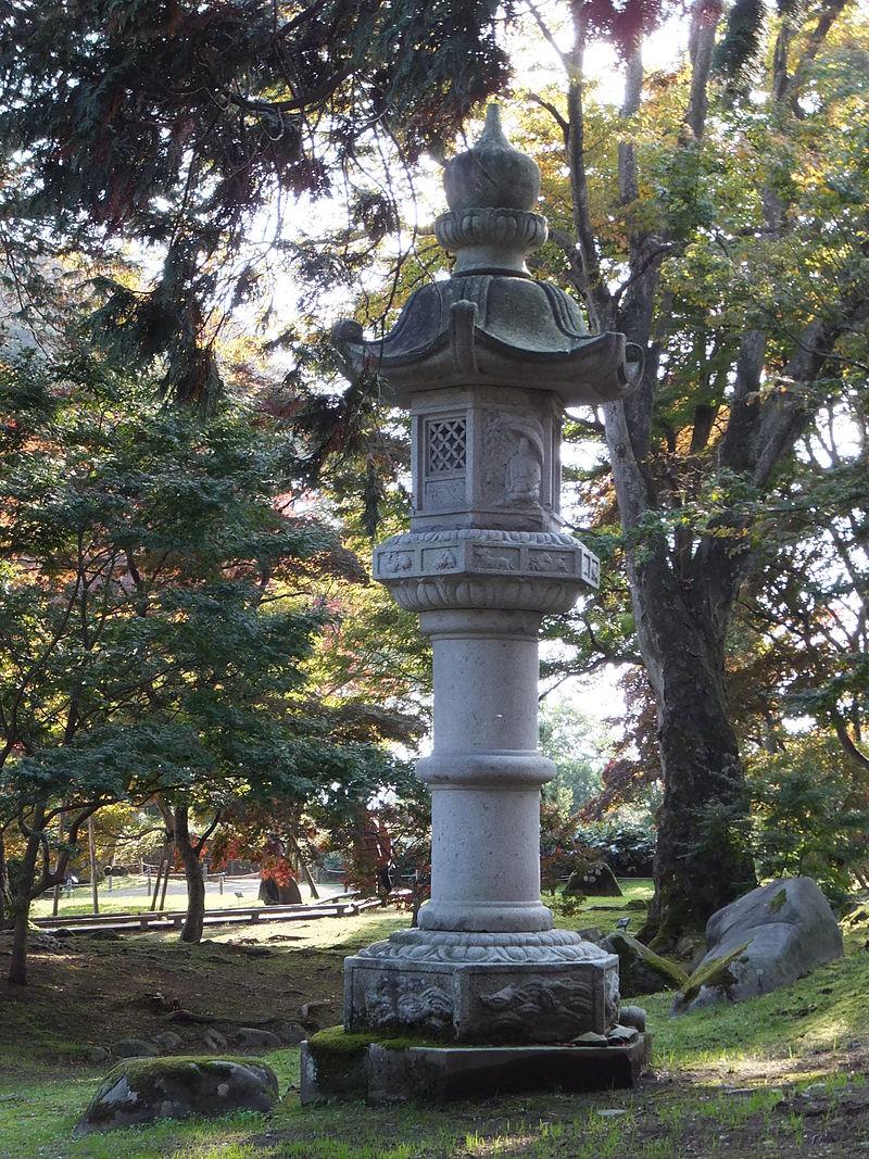 Японский фонарь для сада своими руками фото 220