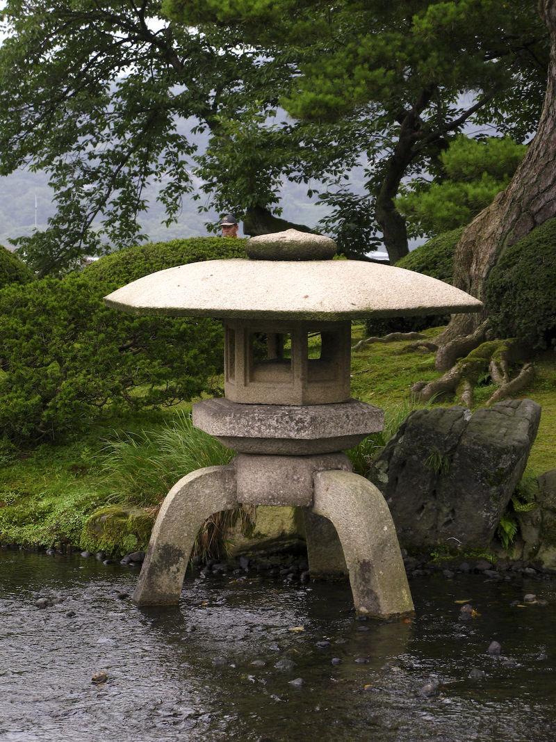 Японский фонарь для сада своими руками фото 602