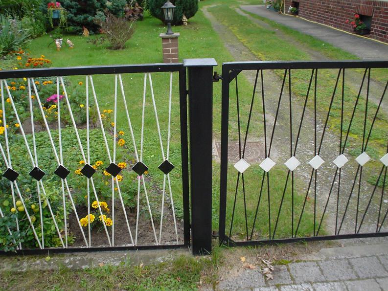 Забор из металлопроката своими руками 42