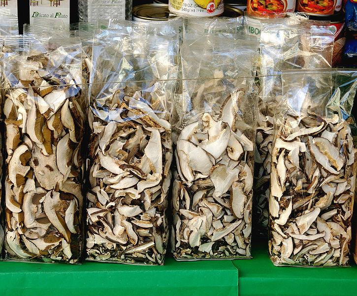 Как в домашних условиях сушить белые грибы