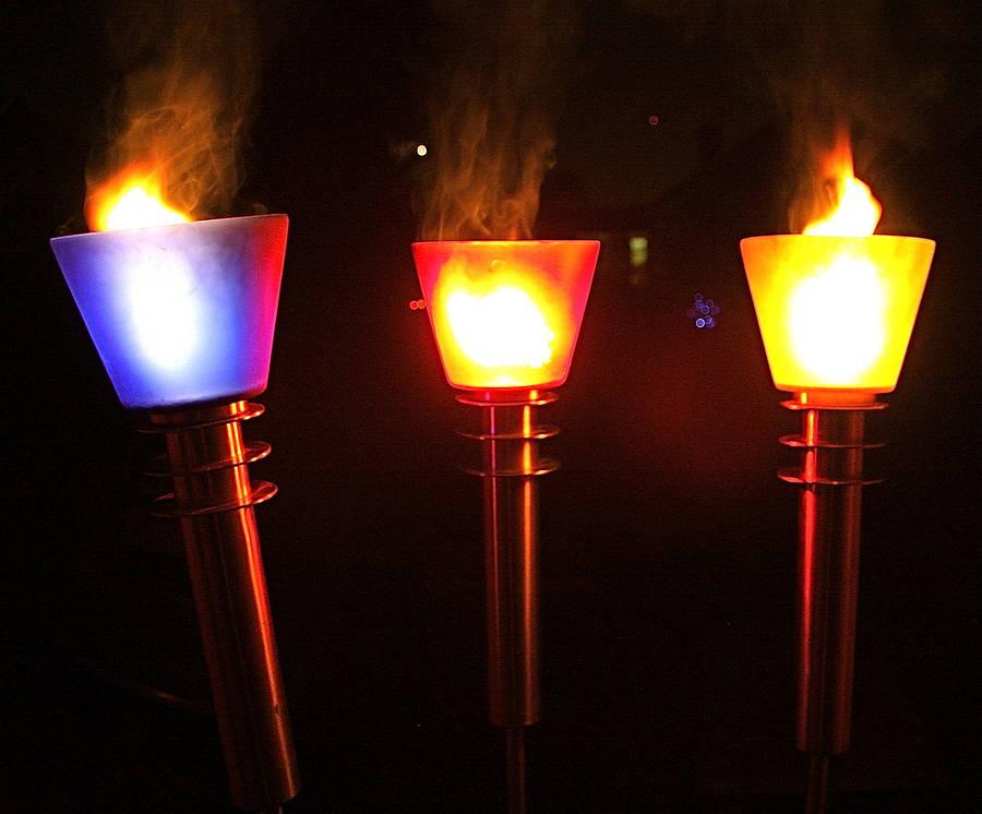 Как сделать факел на факельное шествие