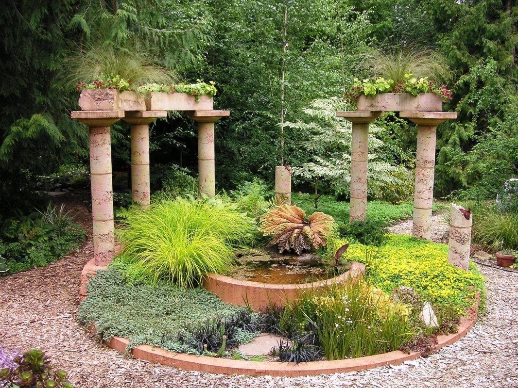 Малые формы сада своими руками