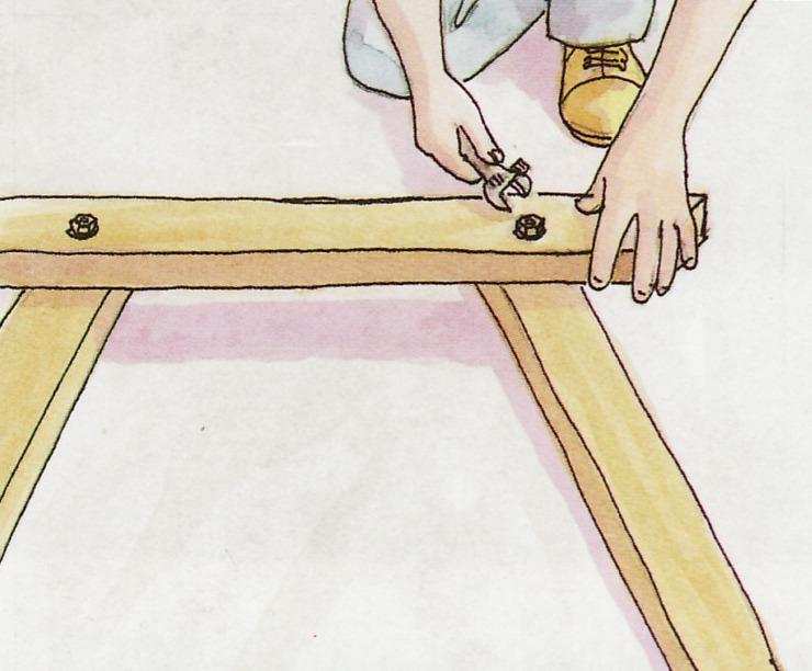 Ножки к столу или лавке своими руками 80