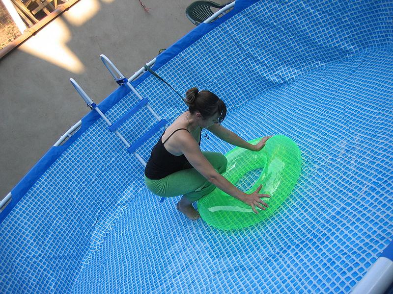 Лесенка в бассейн своими руками 889
