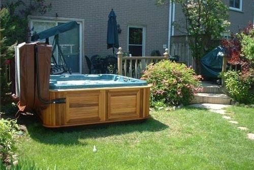 Very Small Backyard With Hot Tub Joy Studio Design